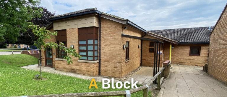 A block
